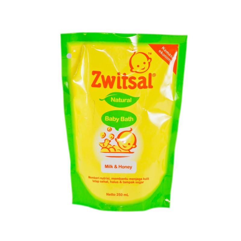 Zwitsal Sabun Mandi Bayi Milk & Honey 250 Ml