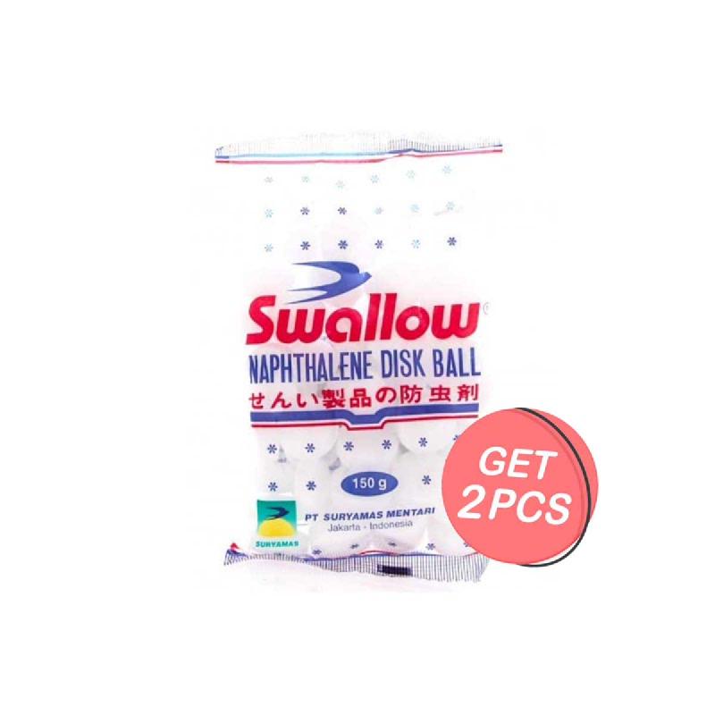 Swallow Naphthalene 150 Gr (Get 2)