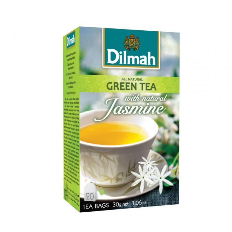 Dilmah Green Tea Jasmine 20S X 1.5 Gr
