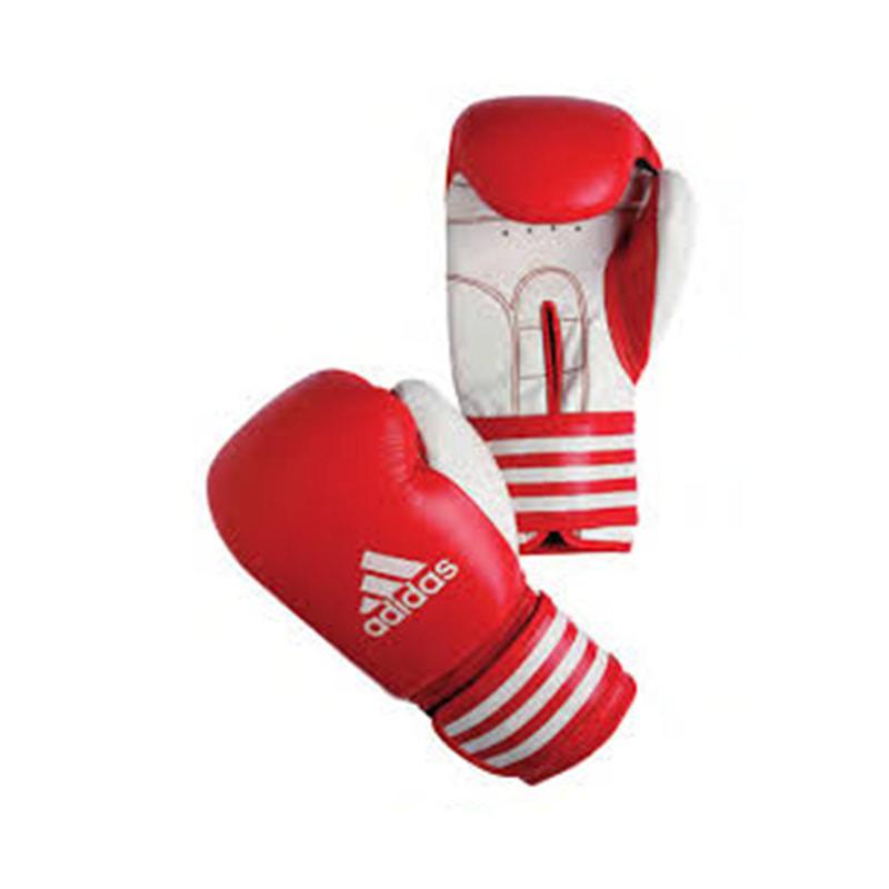 Adidas Combat Kid Boxing Glove Red White