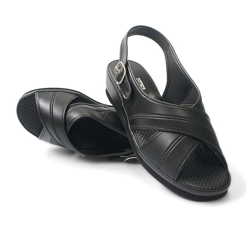 Purewalker Basic Sandal 602 Black