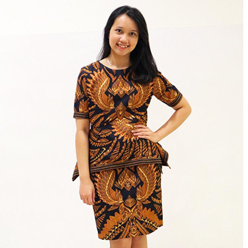 Batik Semar Alexa Dress (Size 3L)