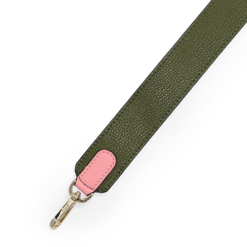 Loev Strap 80cm Olive Pink
