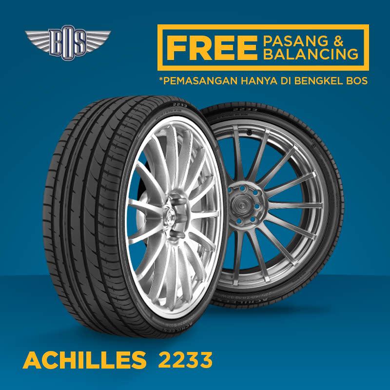 Ban Mobil Achilles 2233 - 185-55 R16 83V - GRATIS PASANG DAN BALANCING