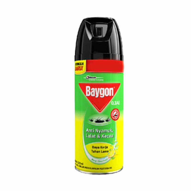 Baygon Aerosol Citrush Fresh 225Ml