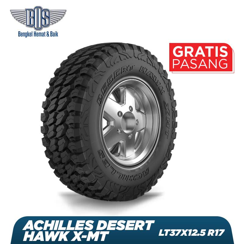 Achilles Ban Mobil  Desert Hawk X-MT - LT37X12.50 R17 124Q 8PR - GRATIS JASA PASANG DAN BALANCING