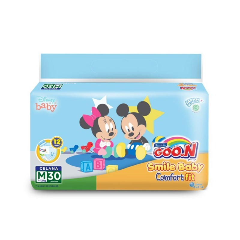 Goo.N Smile Baby Diaper Pants M 34S