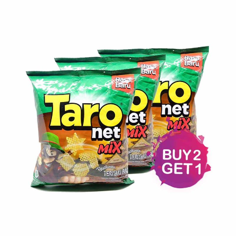 Taro Mix Teriyaki Bbq 65 Gr (Buy 2 Get 1)