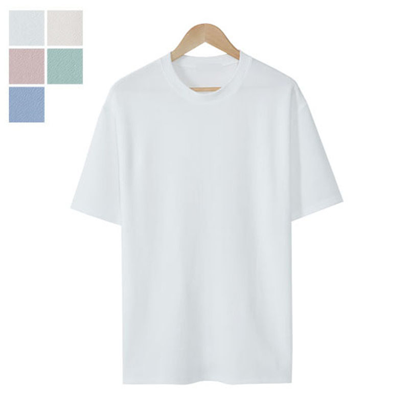 LW_River Round Short Sleeve T-shirt - White