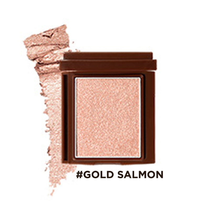16brand Brickit Shadow Creamy Line - Gold Salmon
