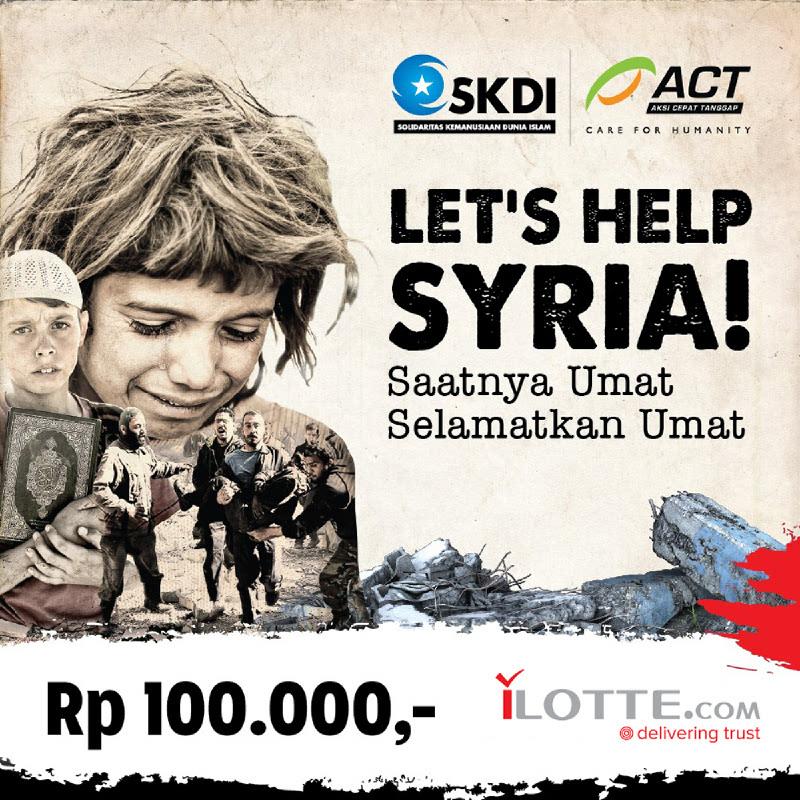 Lets Help Syria (Paket Pangan)