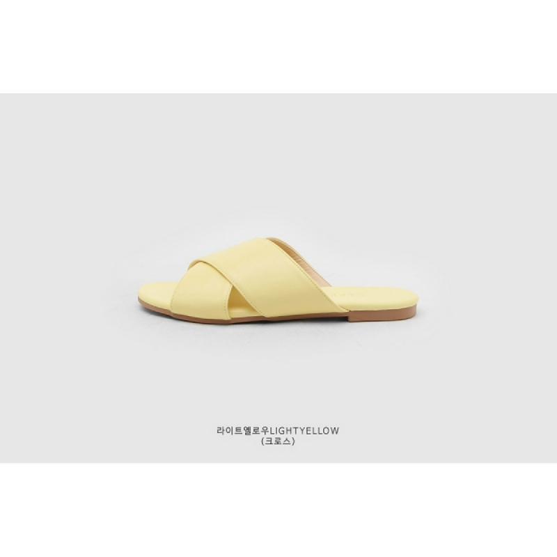 SAPPUN Kamishu Daily Slipper (1cm) - Light Yellow