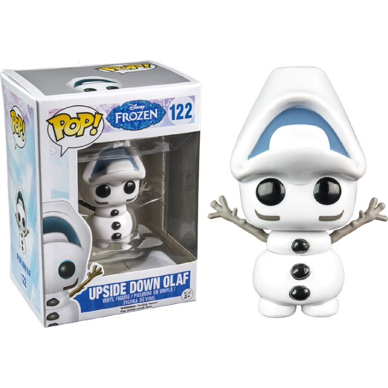 Frozen Funko Pop Olaf Up Side Down Series