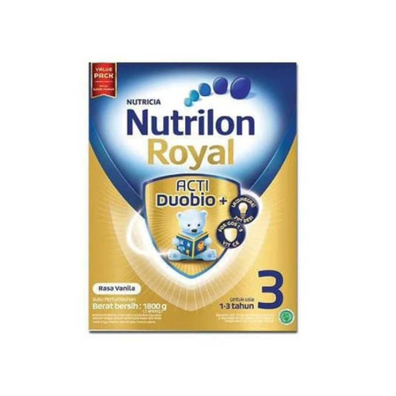 Nutrilon Susu Formula Royal 3 Vanila Box 1800 Gr