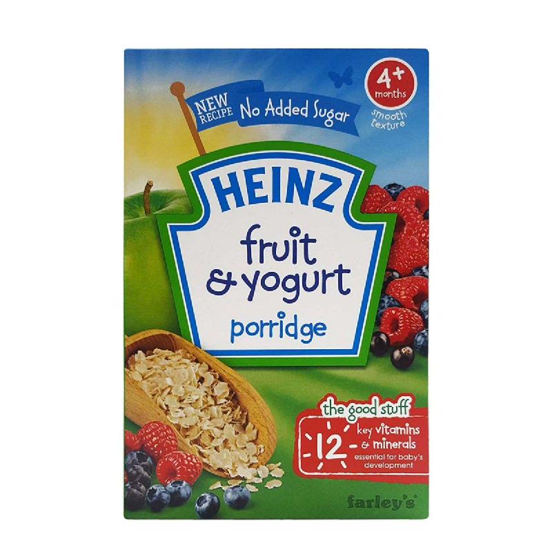 Heinz Breakfast Fruit With Yoghurt Cerea