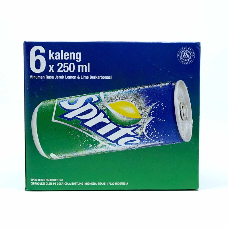 Sprite Banded 6 Pcs (6 X 250 Ml)