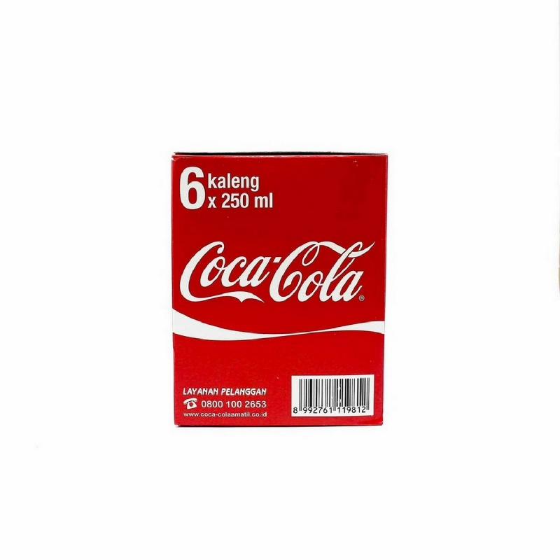 Coca Cola Banded 6 Pcs (6 X 250 Ml)