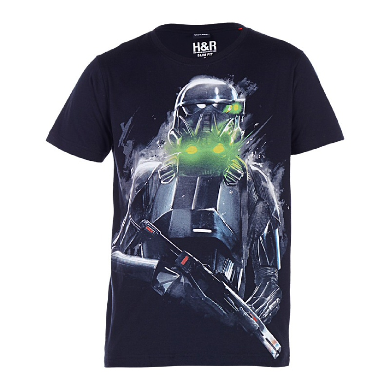 Rogue One Death Trooper Ready To War T-Shirt Black