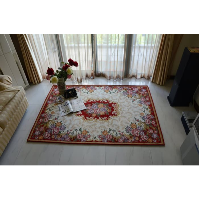 Karpet Aneta Classic Flower European 160x230 cm - Red