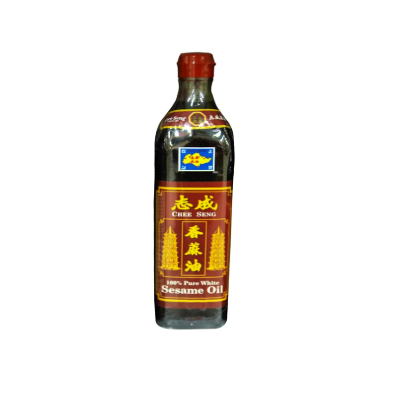 Chee Seng White Sesame Oil 375 Ml
