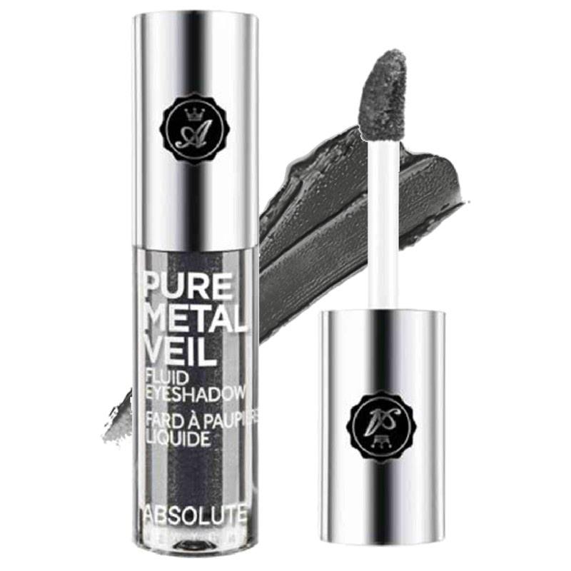 Absolute New York Pure Metal Veil Fluid Eyeshadow Gun Metal
