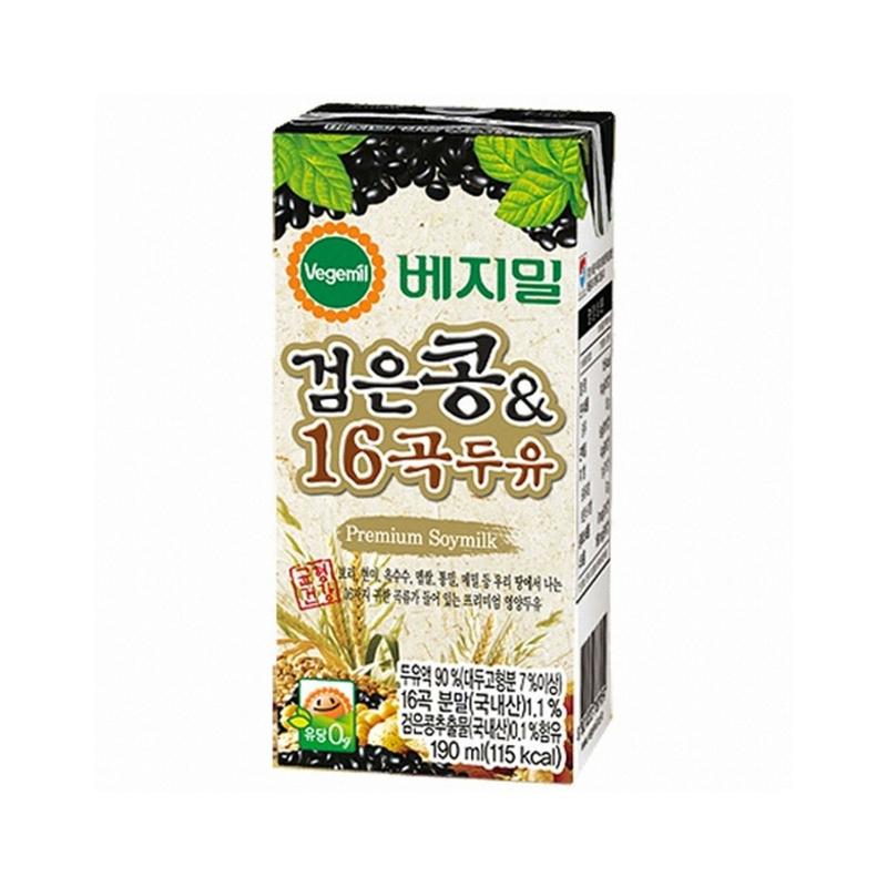 Dr Jung - Minuman Kedelai Hitam dengan 16 Biji-bijian 190 ml