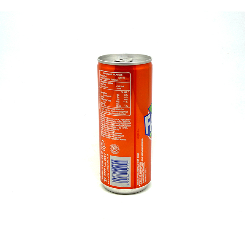 Fanta Orange Can 250Ml