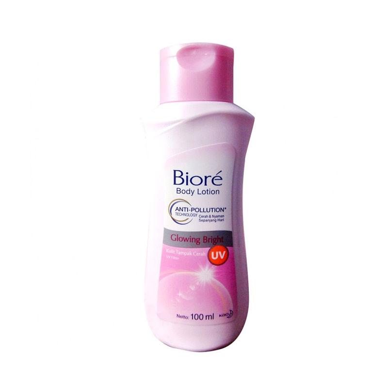 Biore Body Lotion Glowing Bright Uv 100Ml