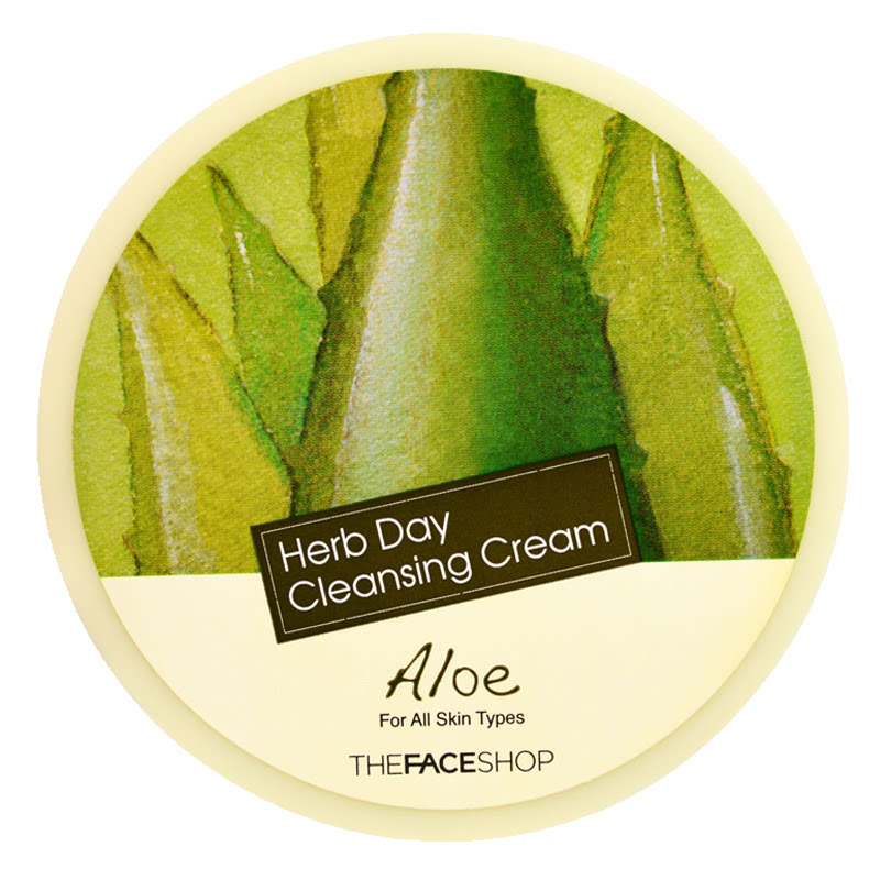The Face Shop Herb Day 365 Cleansing Cream Aloe