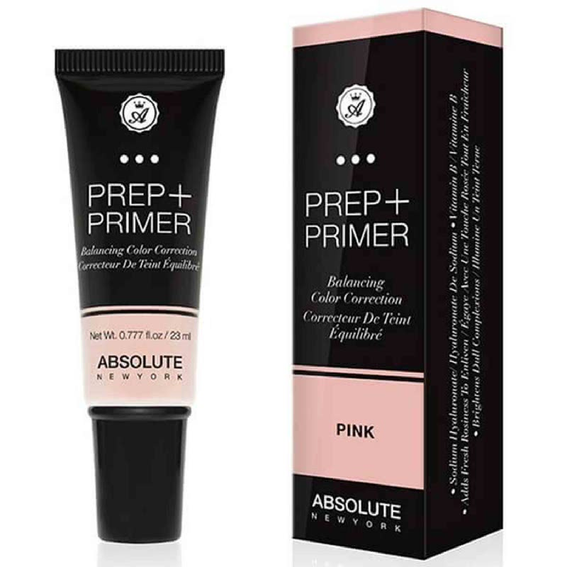 Absolute New York Prep Primer Balancing Color Correction Pink