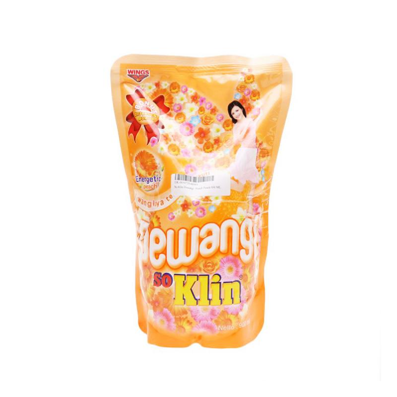 So Klin Pewangi Peach Pouch 900Ml