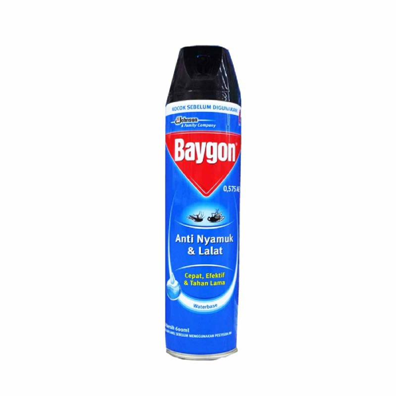 Baygon Aerosol Waterbase 600Ml