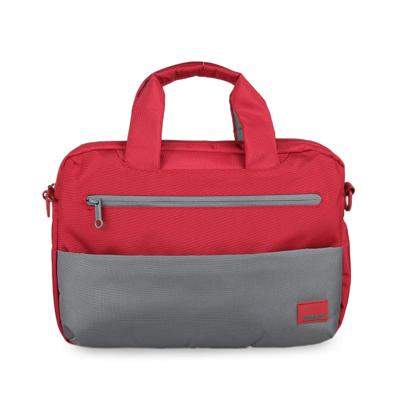 American Tourister Brixton Laptop Briefcase S 95S080002 Red-Grey