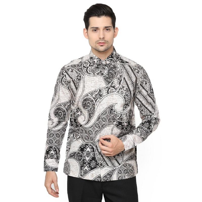 Agrapana Ratnamaya Kemeja Batik Print Lengan Panjang