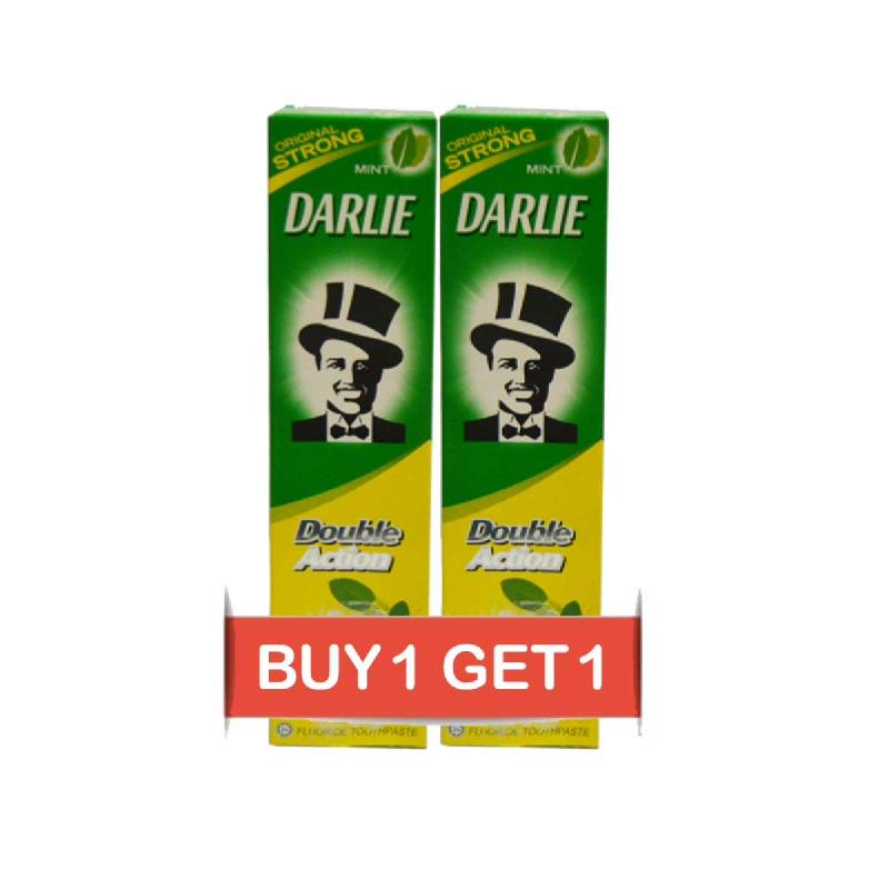 Darlie Pasta Gigi Double Action Mint 225 Gr (Buy 1 Get 1)