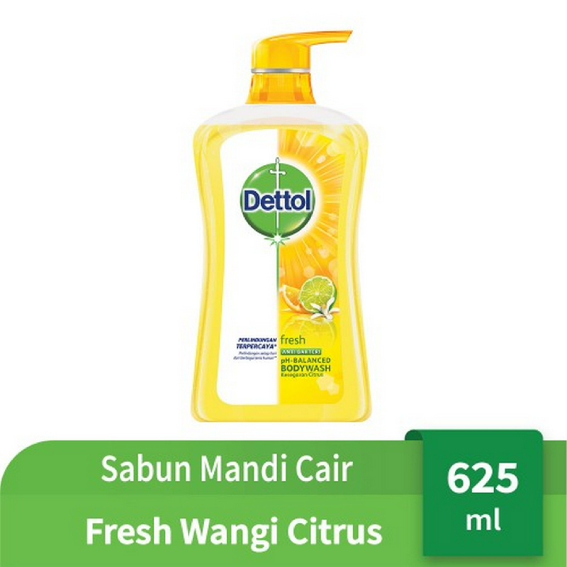 Dettol Bodywash Fresh Pump 625 ml