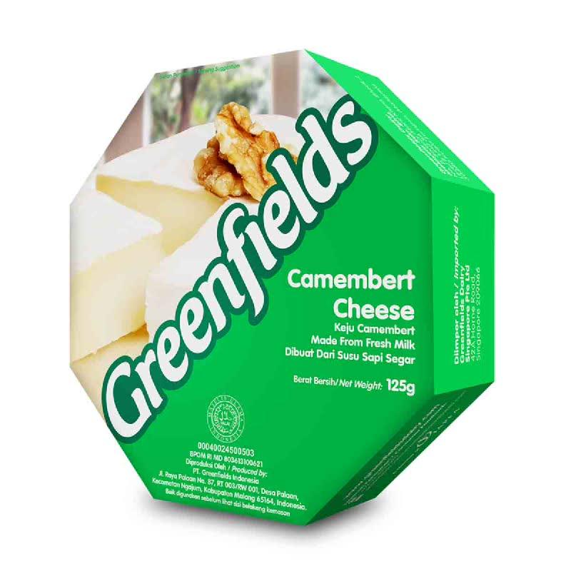 Greenfields Camembert Cheese 125G