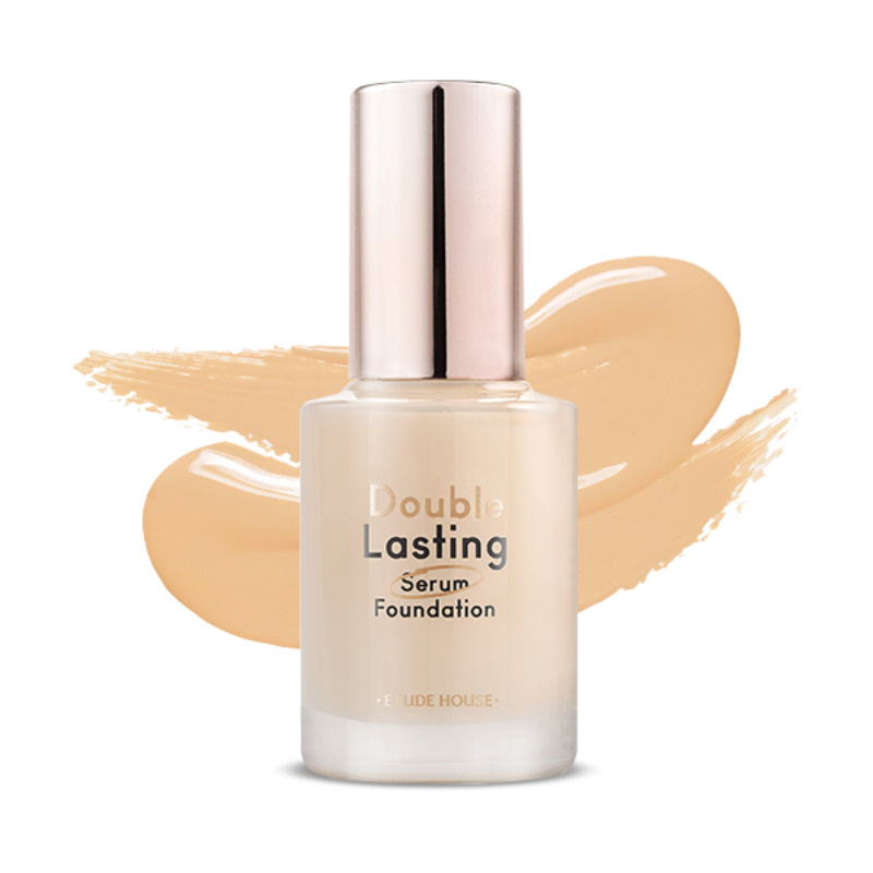 Etude House Double Lasting Serum Foundation SPF25 PA ++ - Neutral Beige (No. 21)
