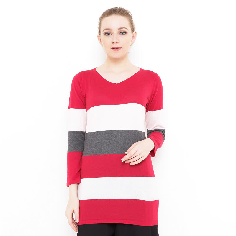 Voyant by Megumi 3 Colourfull Striped Clothes