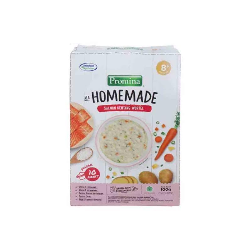 Pomina Homemade Salmon Kentang Wortel 100 Gr