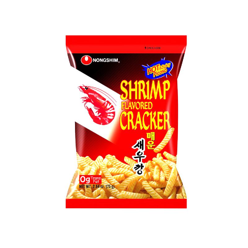 Nong Shim Cracker Shrimp Hot 75 Gr