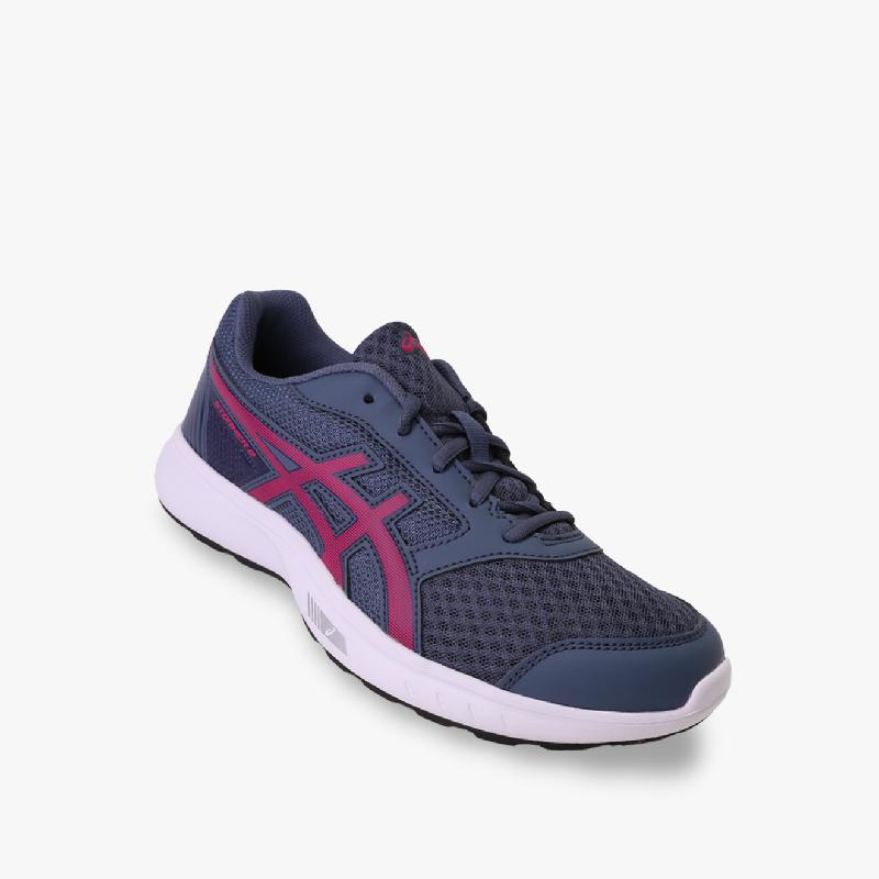 Asics Stormer 2 Women's Running Shoes - Standard Wide Navy