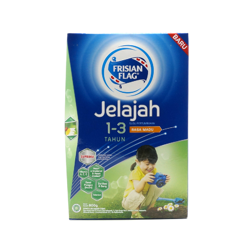 Frisian Flag Powder Milk 123 Jelajah  Madu 800G