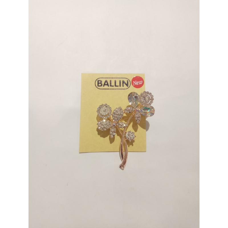 Ballin - Women Brooch LF BRXZ8070 3 Silver