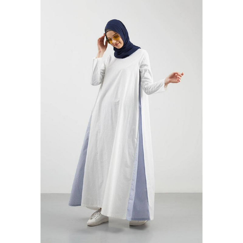 Amila Maxi Dress White