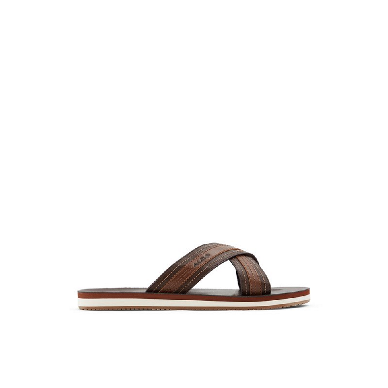 Aldo Men Footwear Sandals Pelowski-201-Dark Brown