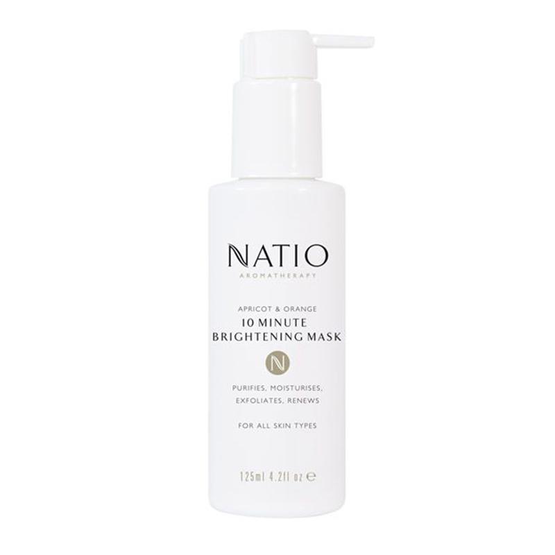 Natio Apricot & Orange 10 Minute Brightening Mask 125ml