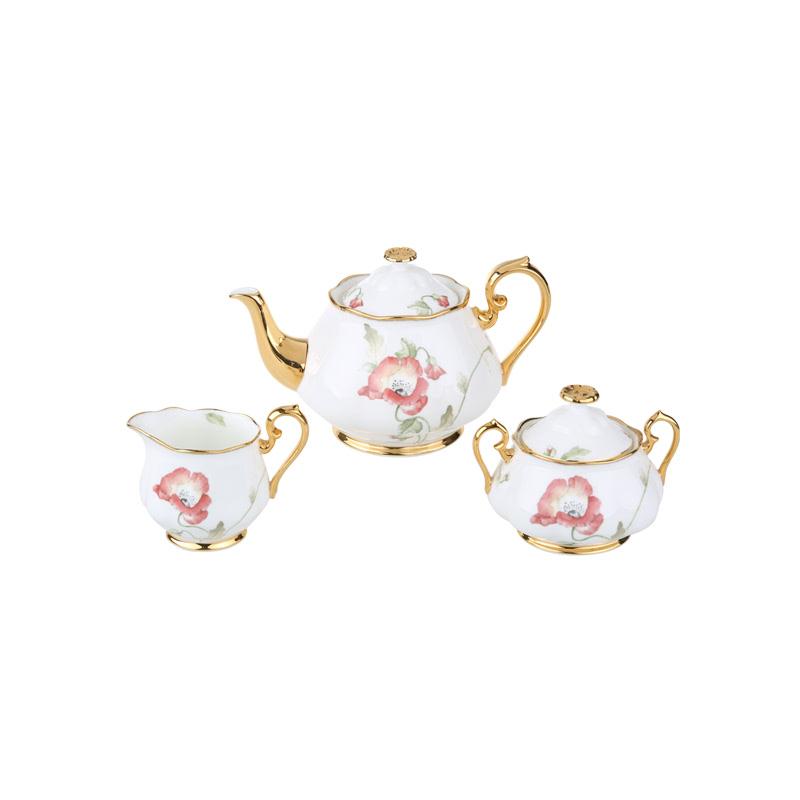Bxd 3Pcs Tea Set RDRTHUNALB23228