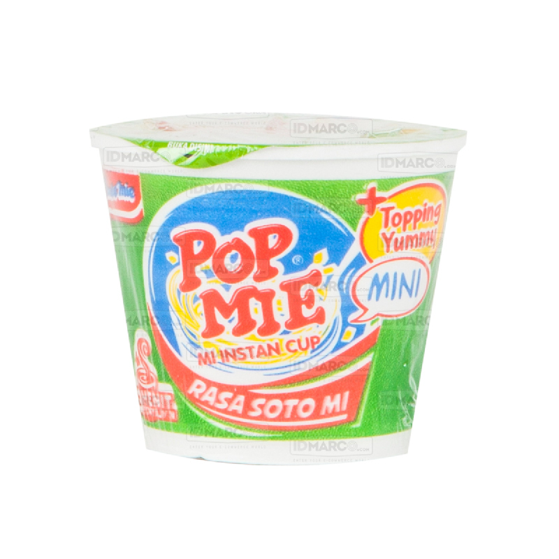 Pop Mie Mini Soto Regular -  1 karton (24 cup)