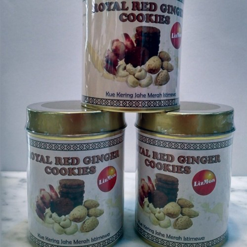 Royal Red Ginger Cookies Kaleng